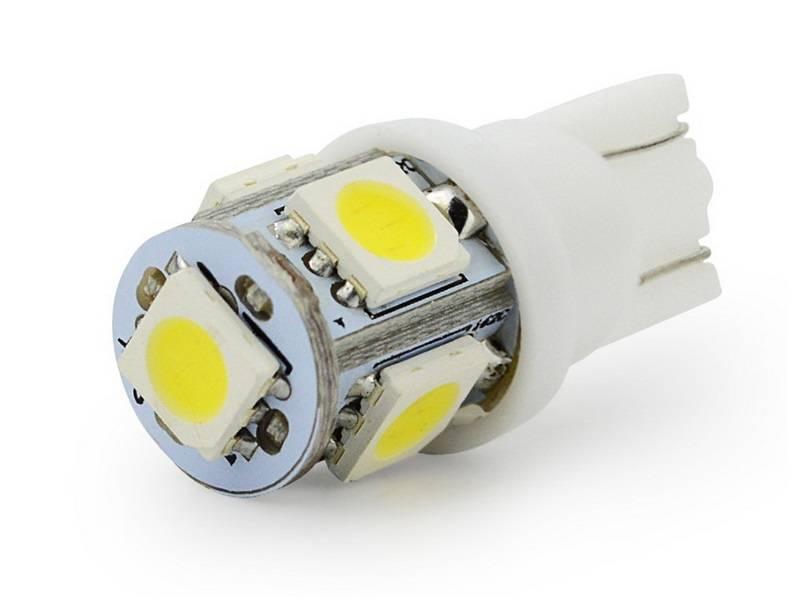 Какие светодиодные лампочки ставят в габариты
