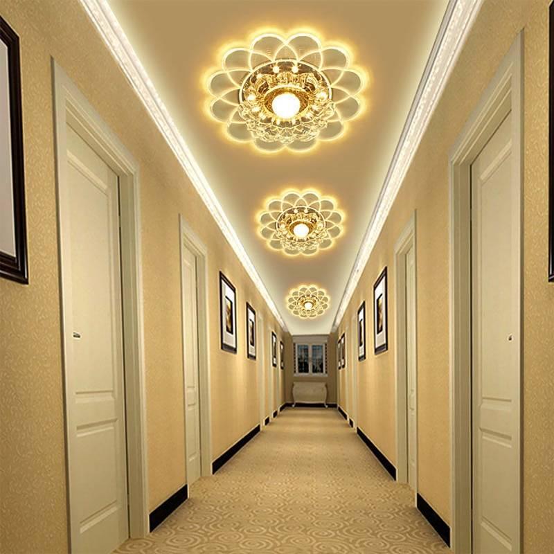 Освещение в прихожей и коридоре в 2021 году, современное и модное