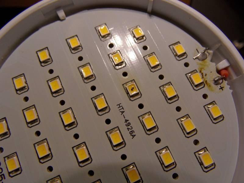 Почему часто перегорают светодиодные лампочки и как с этим бороться