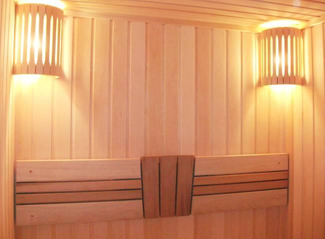 Светильники для бани и сауны: основные требования и нормы