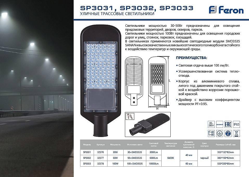 Лампы уличного освещения — разновидности и особенности моделей, которые можно встретить на улицах городов