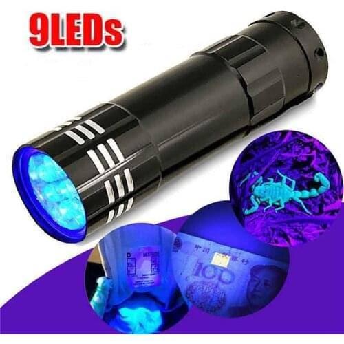 Как сделать ультрафиолетовый фонарик в домашних условиях