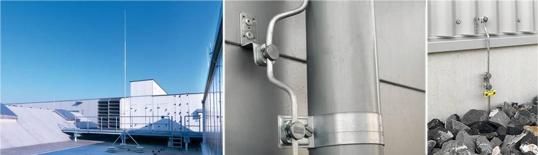Устройство и требования к молниезащите зданий и сооружений