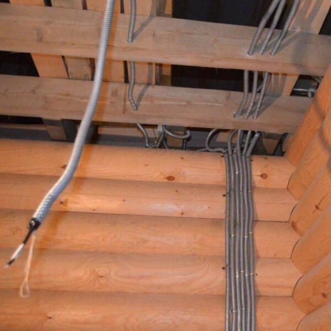 Прокладка кабеля без гофры