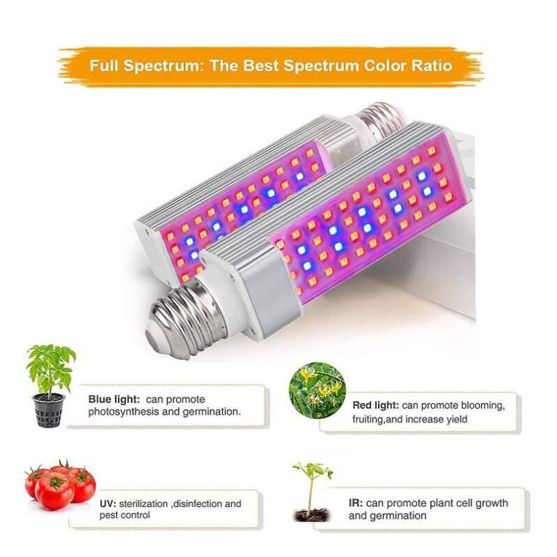 Фитолампа для растений: 3 схемы | блог домашнего электрика