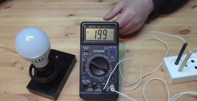 Как проверить лампочку мультиметром. как прозвонить лампочку c помощью мультиметра (тестера)
