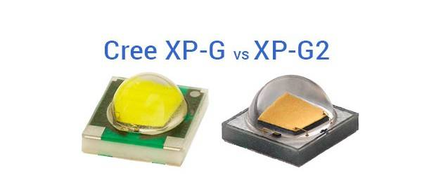 Сравнение характеристик cree xp-g r5 и cree xp-g2 r5 - led свет