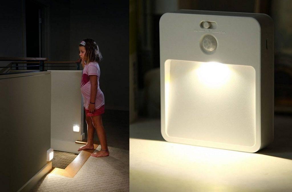 Подсветка лестницы на ступенях с датчиком движения: беспроводные виды, монтаж