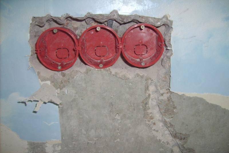 Установка розетки вбетонную стену: отвыбора инструмента для работы— докрепления устройства