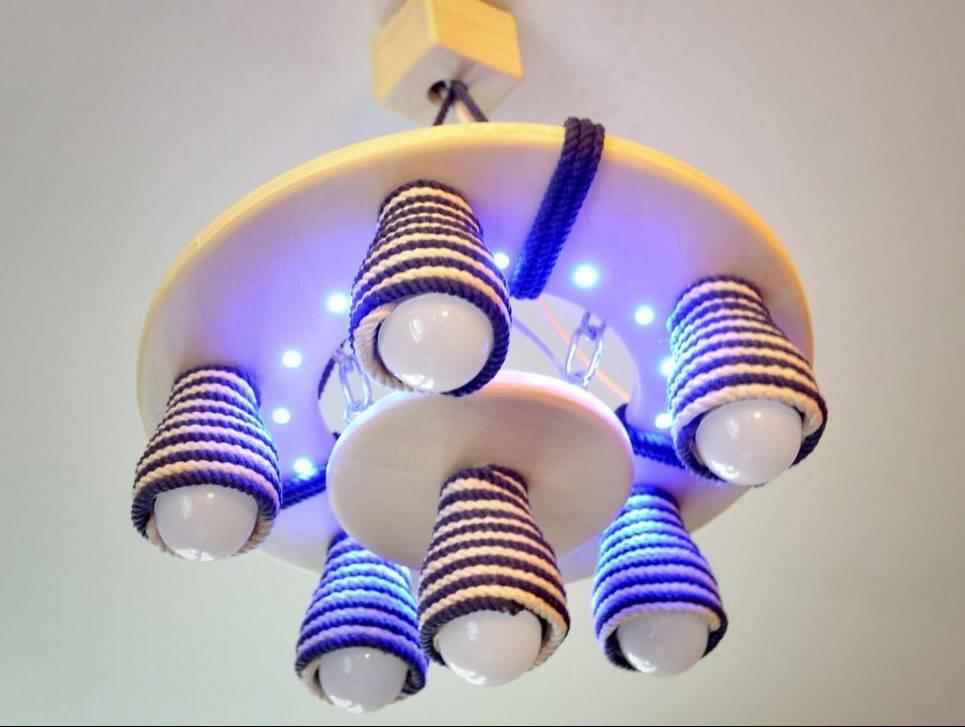 10 способов, как сделать светильник своими руками: мастер класс с фото изготовления из светодиодной ленты, дерева, веревки и клея и других подручных материалов