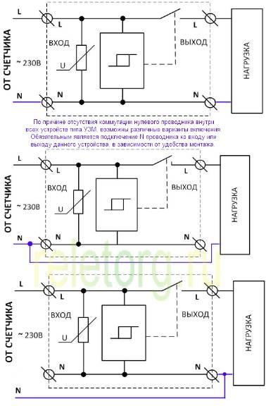 Узм-50 м – подключение и настройка