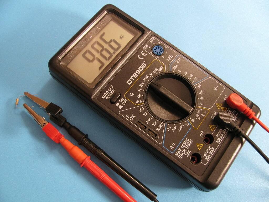Как проверить резистор мультиметром на исправность? как проверить переменный резистор мультиметром?