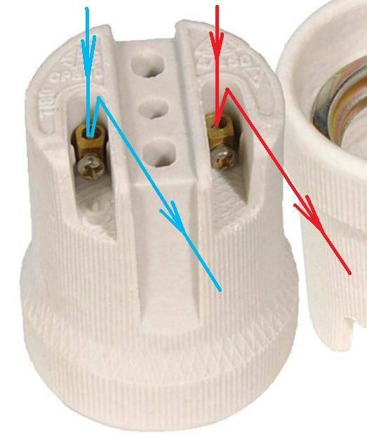 Электрический патрон. подключение патрона.| www.domamaster.net