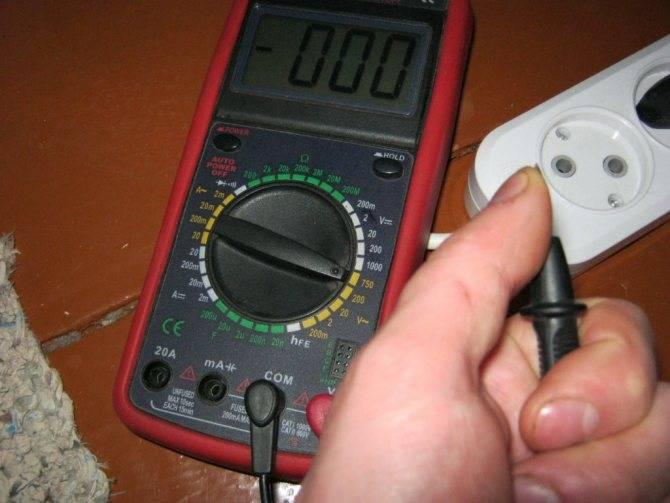Как можно определить фазу и ноль мультиметром и не только