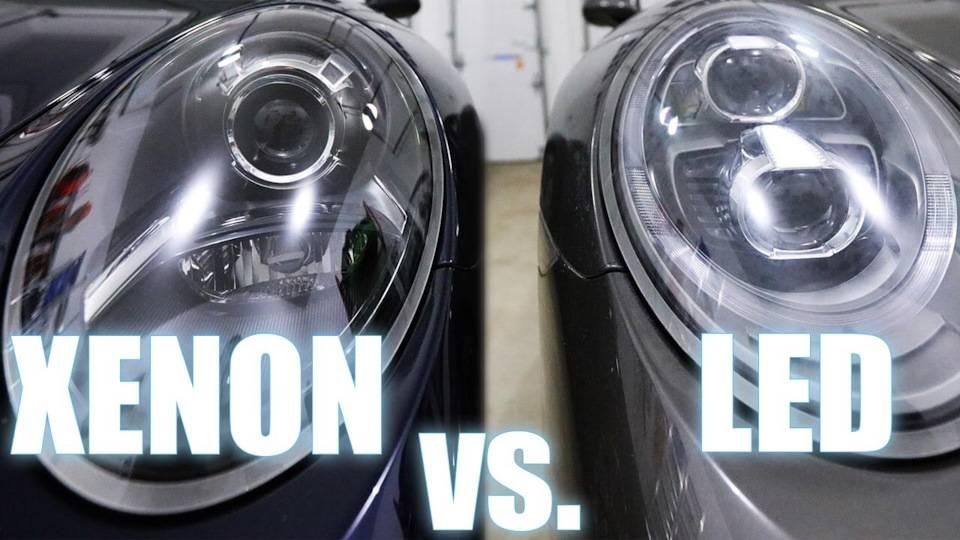 Led в сравнении с xenon: плюсы и минусы