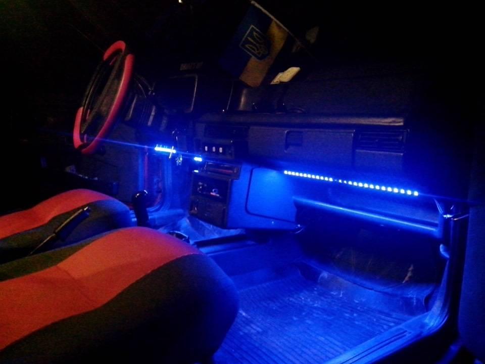 Надежная подсветка днища автомобиля своими руками