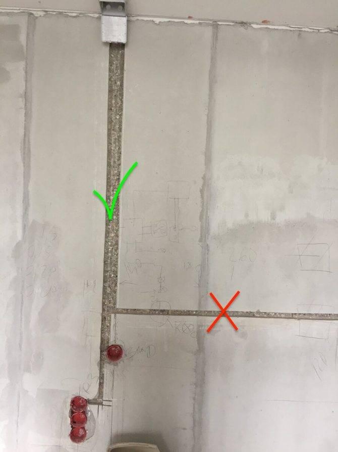 Чем замазать штробу с проводкой в стене своими руками: пошаговое руководство
