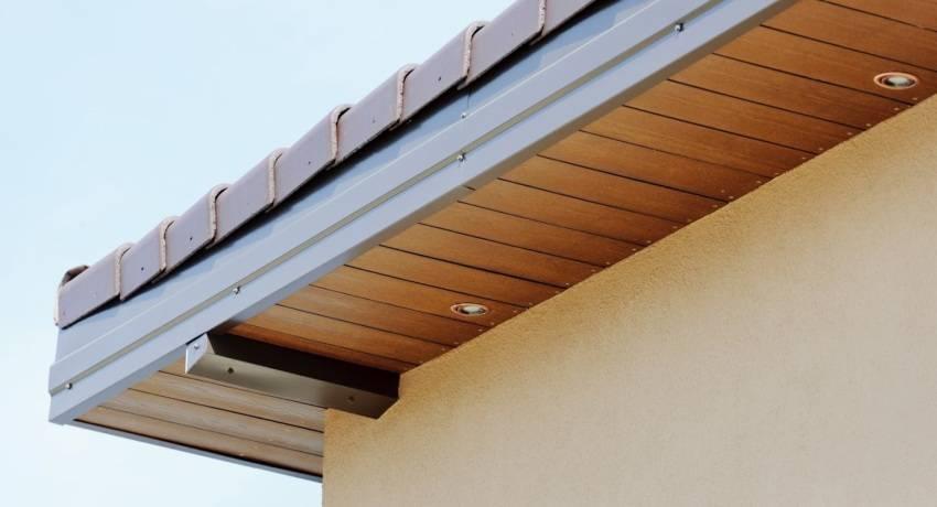 Монтаж софитов на карниз крыши: все о подшивке карнизов софитами