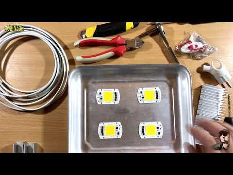 Блок питания для светодиодного прожектора своими руками - вместе мастерим