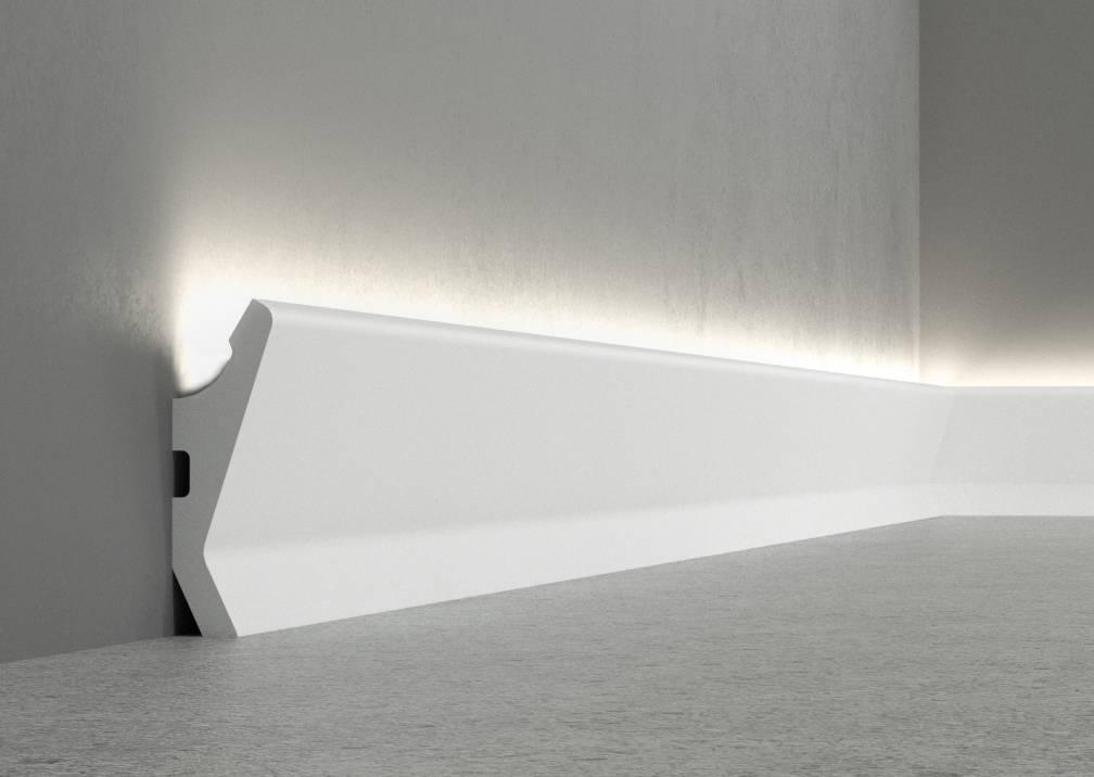 Плинтус с подсветкой (напольный): как сделать ночной вариант с датчиками движения