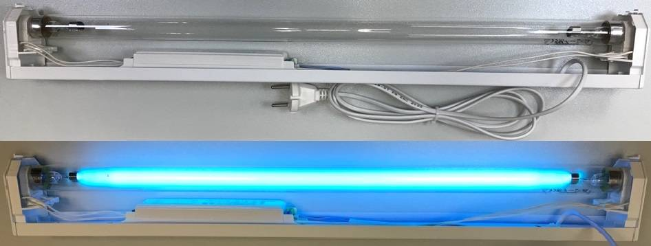 Какую бактерицидную лампу выбрать для дома