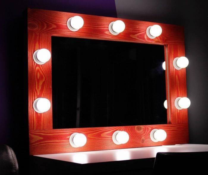 Зеркало с подсветкой своими руками, материалы, пошаговые мастер-классы