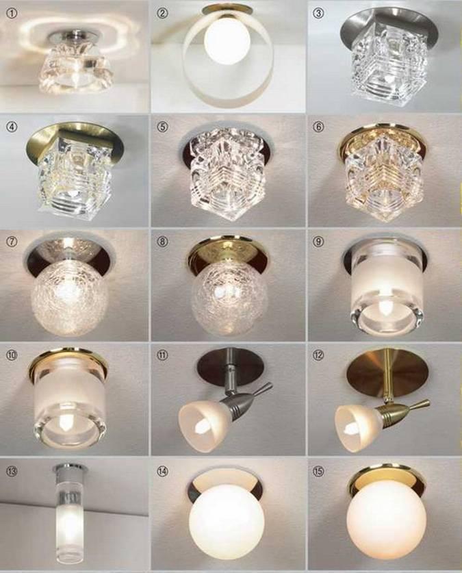 В чем отличие точечных светильников для гипсокартона и натяжных потолков