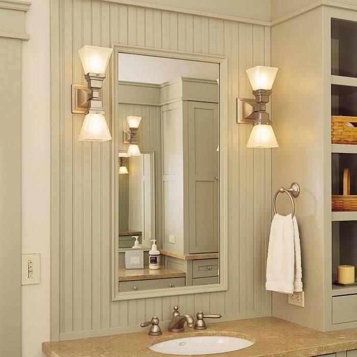 Светильники для ванной комнаты, какие выбрать: виды и особенности