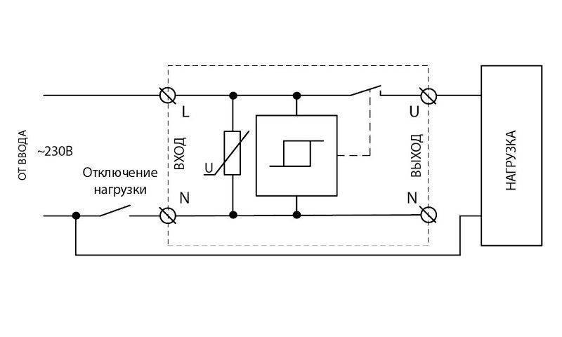 Однофазные реле контроля напряжения меандр узм-50цм (узкий), часть 8