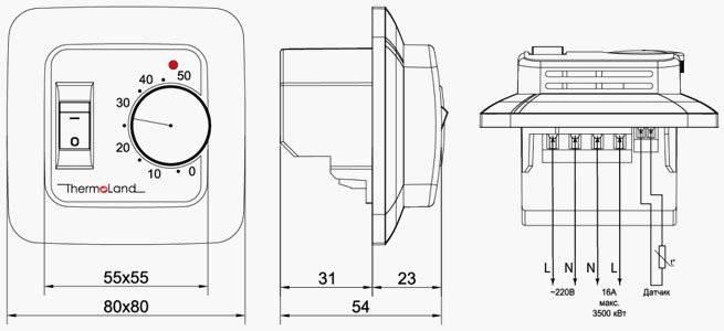Как сделать подключение теплого пола к терморегулятору – регулировка электрического подогрева пола