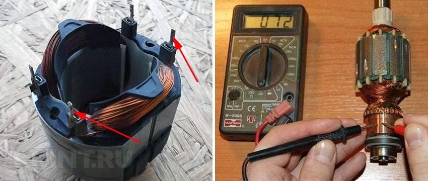 Как проверить ротор на межвитковое замыкание мультиметром