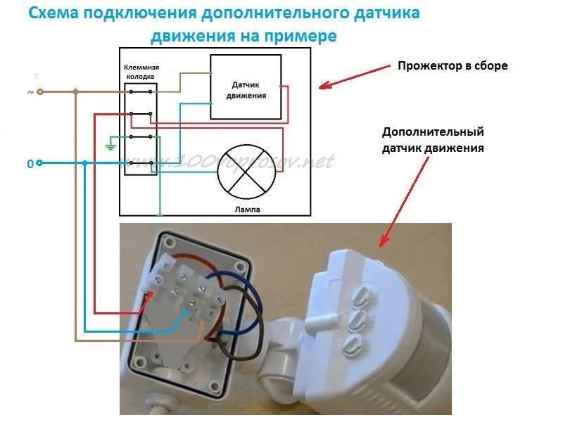 Датчик движения для автоматического освещения
