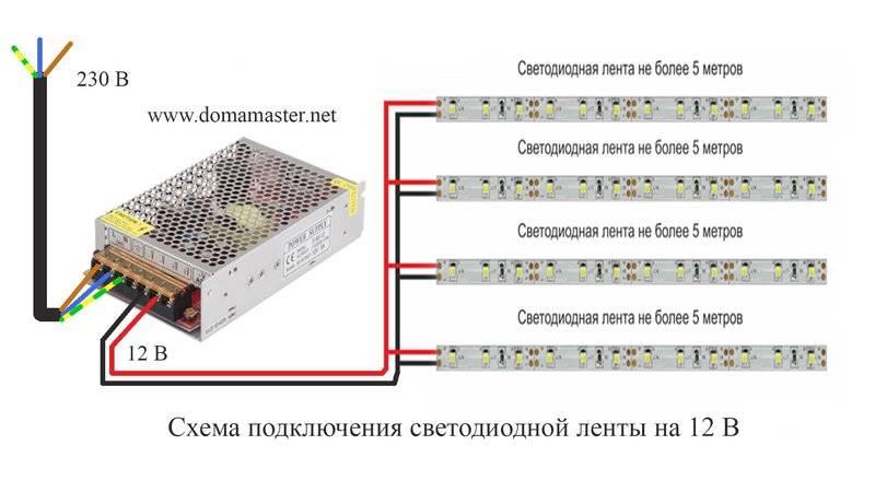 Как подключить светодиодную rgb ленту - 3 ошибки, схемы, подключение контроллера и усилителя, правила выбора