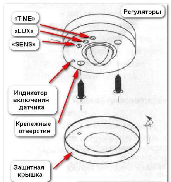 Регулировка датчика движения для освещения: настройка чувствительности и времени