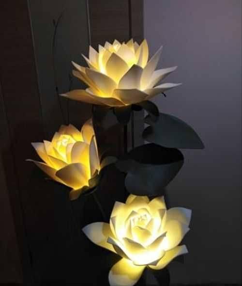 Цветы из изолона для украшения интерьера— фото шедевров
