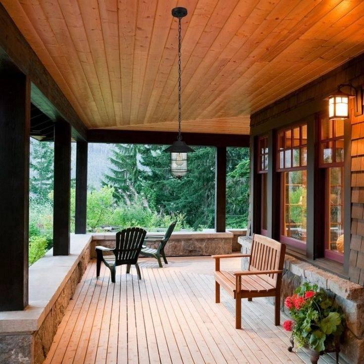 Проекты веранд пристроенных к дому: делаем правильный выбор