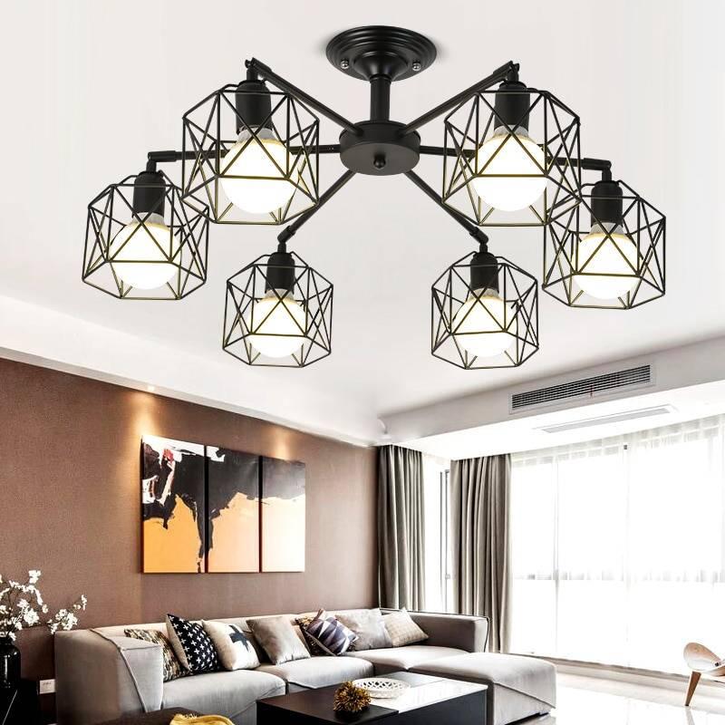 Как выбрать современную потолочную люстру в гостиную