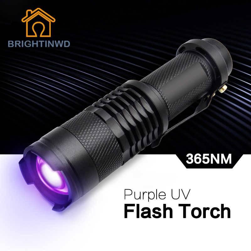 Простой ультрафиолетовый фонарь своими руками