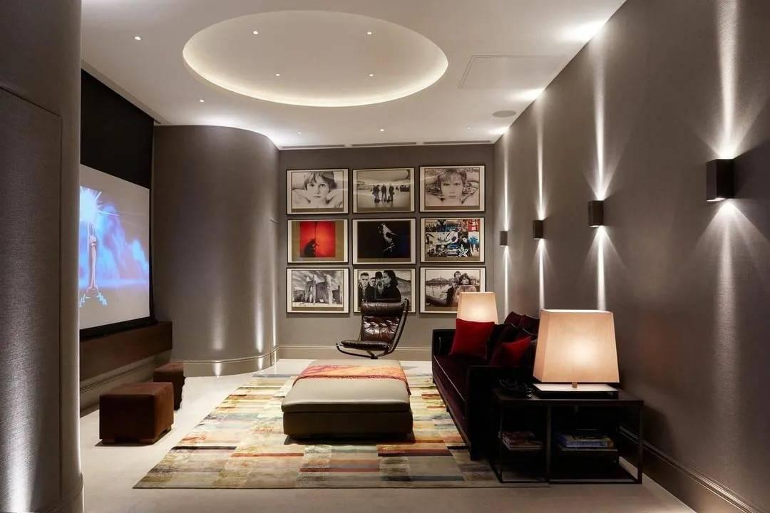 Освещение в гостиной: лучшие советы по выбору осветительных приборов и их реализация в дизайне интерьера (фото и видео примеры)