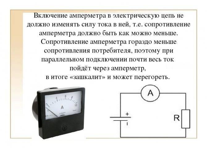 Амперметр: устройство прибора, принцип действия и применение