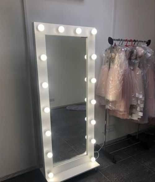 Зеркало с подсветкой своими руками: как сделать стильной и красивое гримерное зеркало