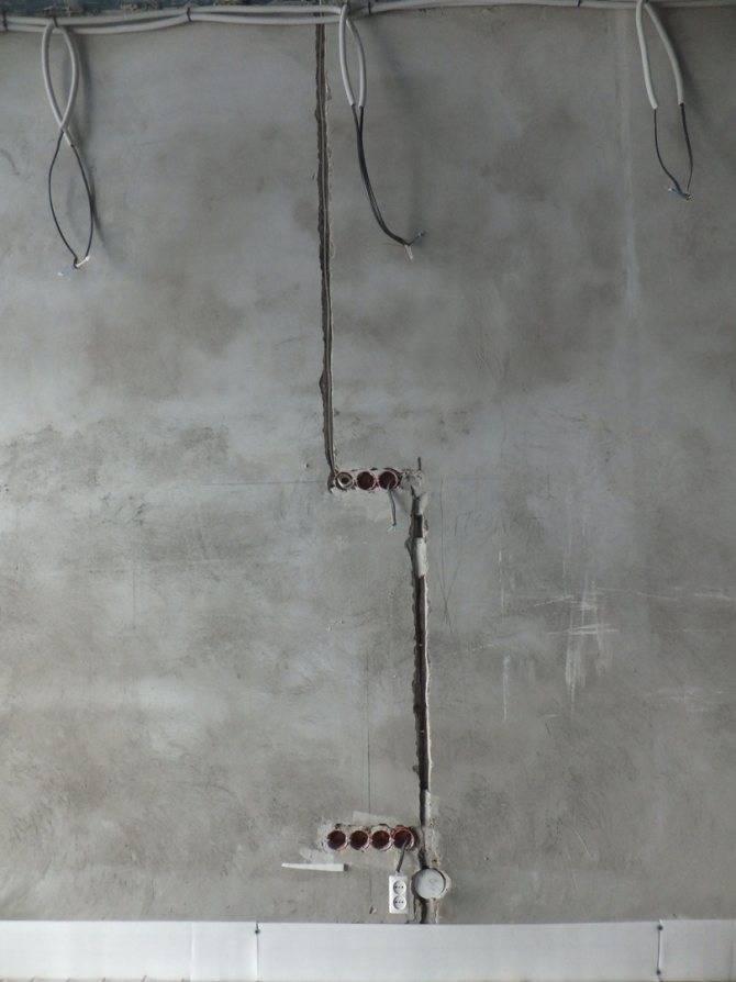 Пошаговое руководство о том, как правильно штробить стену под проводку: 50 фото и 4 видео