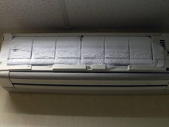 Течет вода из кондиционера в комнату: причины, что делать