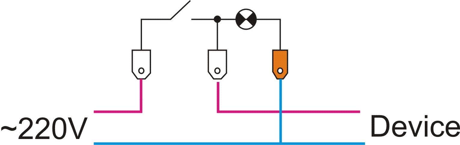 Подключение проходного выключателя - 2 ошибки и недостатки. схема подключения с двух и 3-х мест.