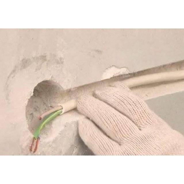 Как штробить стены под проводку болгаркой своими руками без пыли