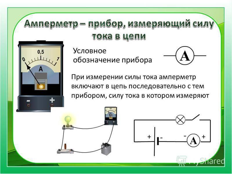 Амперметр: устройство и виды приборов, принцип действия, проведение измерения