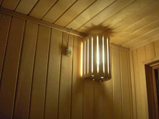 Светильники для бани и сауны. основные критерии выбора