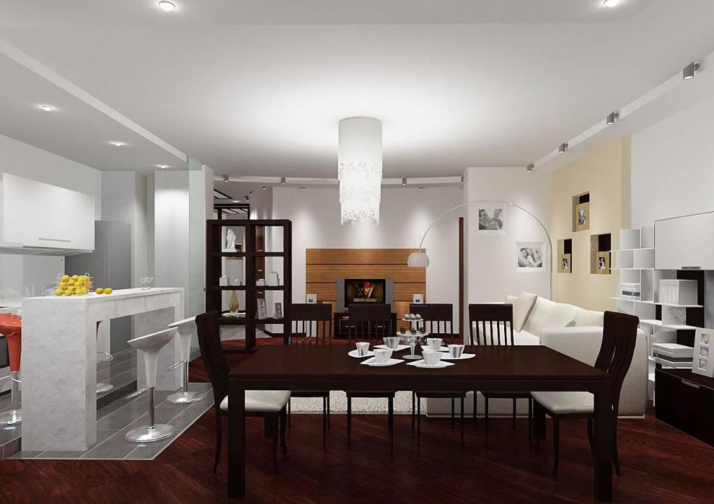 Освещение на кухне с натяжным потолком: на что обратить внимание при выборе