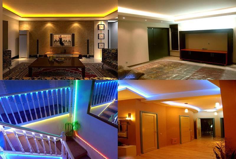 Светодиодное освещение в квартире - плюсы и минусы