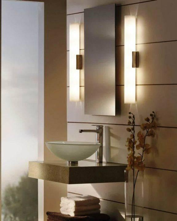 Бра для ванной - как выбрать идеальный настенный светильник для ванной? | дизайн и интерьер ванной комнаты